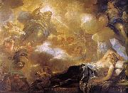 Luca  Giordano The Dream of Solomon oil painting artist